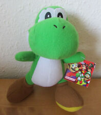 "FAB 7"" *YOSHI* SUPER MARIO GAMING HERO PLUSH SOFT TOY - NINTENDO - WITH TAG"