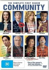 COMMUNITY The Complete First Season DVD R4 New / Sealed
