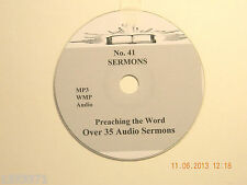 No 41,  Over 35  Audio Sermons, MP3 one CD