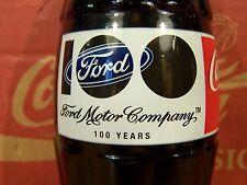Ford  Motor  Company  100  YEARS,  1 - 8  Oz Coke Bottle