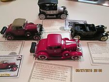 Four National Motor Museum Mint diecast vehicles Scale 1:32