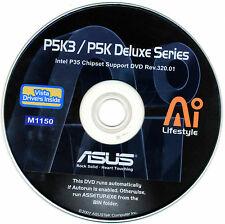 ASUS P5K3 Deluxe P5K Deluxe Series Motherboard Drivers Install  M1150