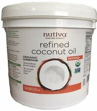 Nutiva Organic Coconut Oil Refined Superfood 1 Gallon (128 oz)