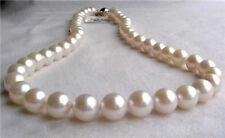 AAA 10-11mm White Akoya Cultured Pearl Necklace 18''
