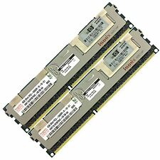 HP 8gb (2x4gb) pc3-10600 ddr3-1333 ECC Registered 240-pin DIMM RAM Modulo Di Memoria