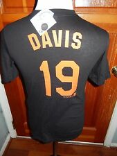 NWT Baltimore Orioles Chris Crush Davis #19 Oriole Bird Youth Large  T-Shirt