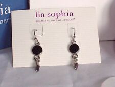 Beautiful Lia Sophia RODEO Dangle Earrings, NWT