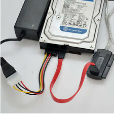 USB 2.0 to IDE SATA 5.25 SATA/2.5/3.5 480Mb/s Data Interface Adapter Cable DW