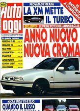AUTO OGGI # Anno VII - N.310 - 11 Novembre 1992 #A.Mondadori#Rivista settimanale