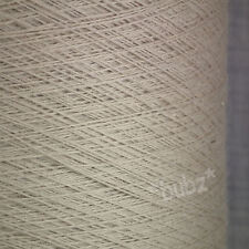 ZEGNA BARUFFA CASHWOOL PURE MERINO WOOL 2/30s LINEN BROWN LACEWEIGHT YARN 1 PLY