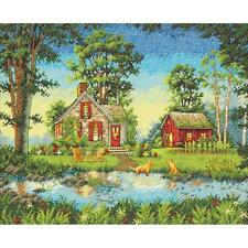 Dimensions Gold Collection Counted Cross Stitch Kit - Summber Cottage