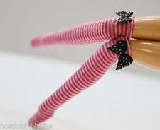 Custom Stockings For Blythe/Pullip/Obitsu/Licca/ 1/6 Scale Dolls - BS237,PK& WH
