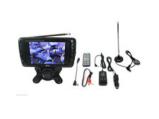 7 Inch Portable Rechargeable ATSC/NTSC Digital LCD TV With USB SD Remote Control