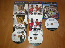 TIGER WOODS 2005 , FIFA 2005 Y PES 2008  PARA  PLAYSTATION 2 / PS2 / PLAY2