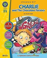Charlie and the Chocolate Factory (Literature Kit Grades 3-4), Marie-Helen Goyet