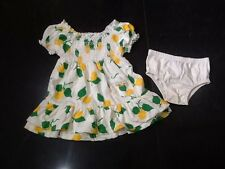 Juicy Couture New & Genuine Baby Girls Towelling Dress & Pants Age 6/12 MTHS