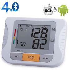 Bluetooth Fully Automatic Upper Arm Blood Pressure Monitor for IOS & Android AD