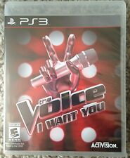 The Voice: I Want You Nintendo PS3 Karaoke Singing Sony Playstation Game