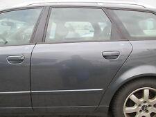Tür hinten links AUDI A4 B6 8E Avant delphingrau LX7Z grau