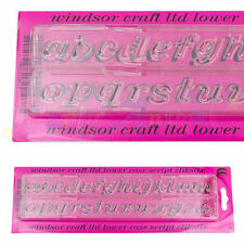 WINDSOR CLIKSTIX - SCRIPT Multi Lower Case Alphabet Cutter