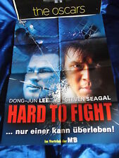 HARD to FIGHT - Dong-Jun Lee vs. Steven Seagal -Poster A1(59x84 Film-Plakat F4b