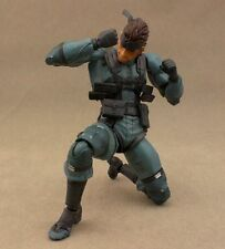 Figma 243 Solid Snake Metal Gear Solid 2 Sons Liberty Action Figure Toys Doll