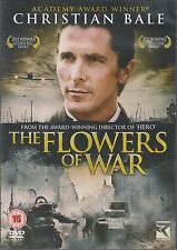 THE FLOWERS OF WAR - Christian Bale. Directed by Zhang Yimou (DVD 2012)