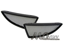 JDM Front Bumper Hood Mesh Grille for 04-05 Lancer ES LS OZ Rally Ralliart BLACK