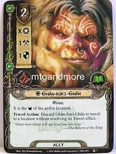 Lord of the Rings LCG - #007 Ghan-Buri-Ghan - The Flame of the West