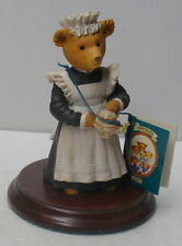 UPTOWN DOWNTOWN BEARS    FLORA MANDLE ~THE PARLOUR MAID ~ DEPARTMENT 56