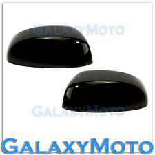 07-14 Chevy Suburban+Tahoe Gloss Shiny Black Mirror Cover Half Top piece 1 Pair
