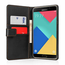 Yousave Accessories PU Leather Wallet Case Cover for Samsung Galaxy A9 (2016)