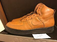 1992 Nike Air Force 1 One High Brown Black SZ 10.5 (not linen stash canvas mid)