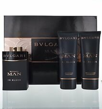 Bvlgari Man In Black by Bvlgari gift set for Men 3.4 oz Eau de Parfum