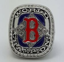 2004 Boston Red Sox world series championship ring size 11 Back Solid