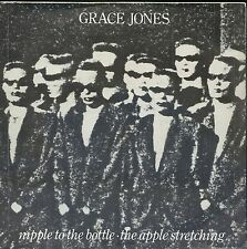 7inch GRACE JONES niplle to the bottle HOLLAND EX +PS 1982