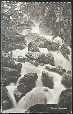 Lodore Waterfall Cumbria Postcard 1920
