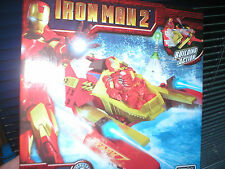 IRON MAN 2 SERIES JET BOAT MEGA BLOKS SET, NEVER OPENED
