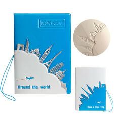 Journey Travel Passport Holder ID Card Case Cover Credit Ticket Protector Hot