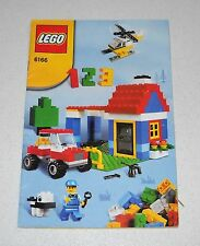 LEGO 6166 Casa Building libretto Instruction Manual Booklet MANUALE