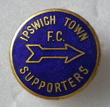 IPSWICH TOWN SUPPORTERS F.C. FOOTBALL CLUB OLD/VINTAGE Football Lapel Pin Badge