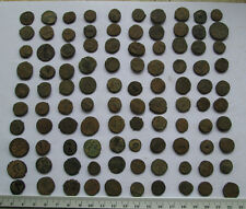 Lots of 100 Uncleaned Roman Bronze Coins