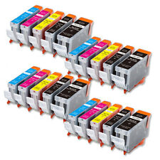 20 PK Printer Ink + Chip for Canon PGI-5BK CLI-8 iP4200 iP4500 MP500 FAST SHIP