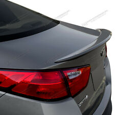 For: KIA OPTIMA; PAINTED Spoiler Wing Factory Style 2014-2015