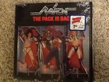 RAVEN - THE PACK IS BACK - ATLANTIC RECORD 1986 IN SHRINK - RARE HAIR METAL