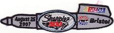 Bristol Motor Speedway 2007 Sharpie 500 NASCAR Event Patch - Carl Edwards Won