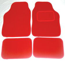 Red Car Mats For Bmw Mini One Cooper S Clubman Countryman