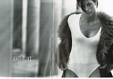 PUBLICITE ADVERTISING  1997   ANTI-FLIRT   sous vetements body ( 2 pages)