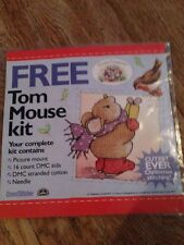 Tom Mouse Christmas Cross stitch Kit country Companions