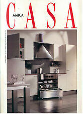CASA AMICA N. 1 1 FEBBRAIO 1988 ARREDAMENTO ARCHITETTURA DESIGN